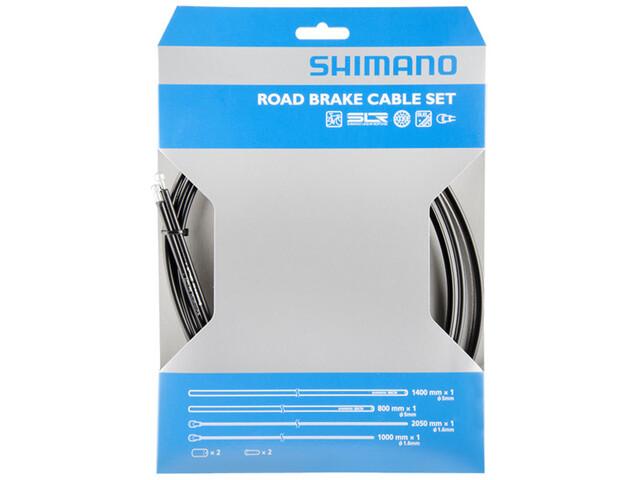 Shimano Road Bremsekabel PFTE coated, black